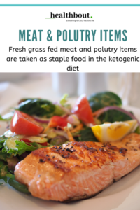 Meat and Polutery for keto diet