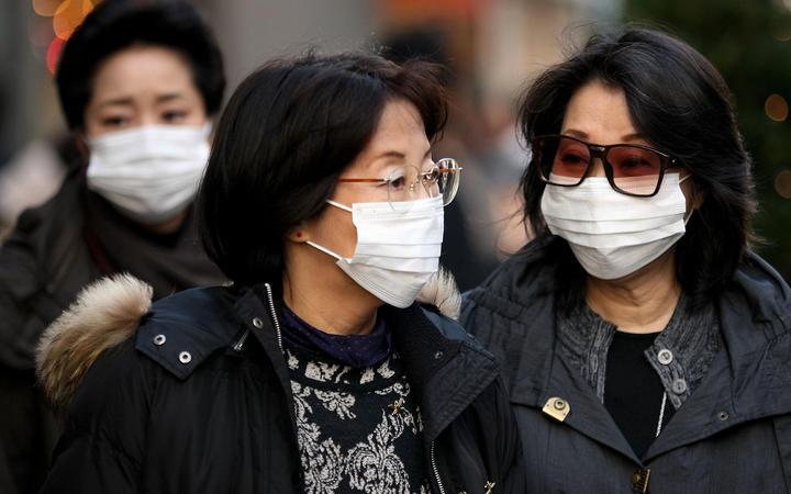 Coronavirus transmission in Japan
