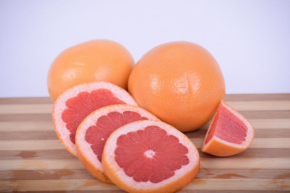 Grapefruit is known for healthy high carb diet food