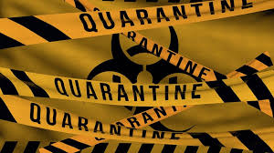 Self-Quarantine is the 14 day time period, where the person exposed to risk is not allowed to meet anyone and quarantined in the confined place.