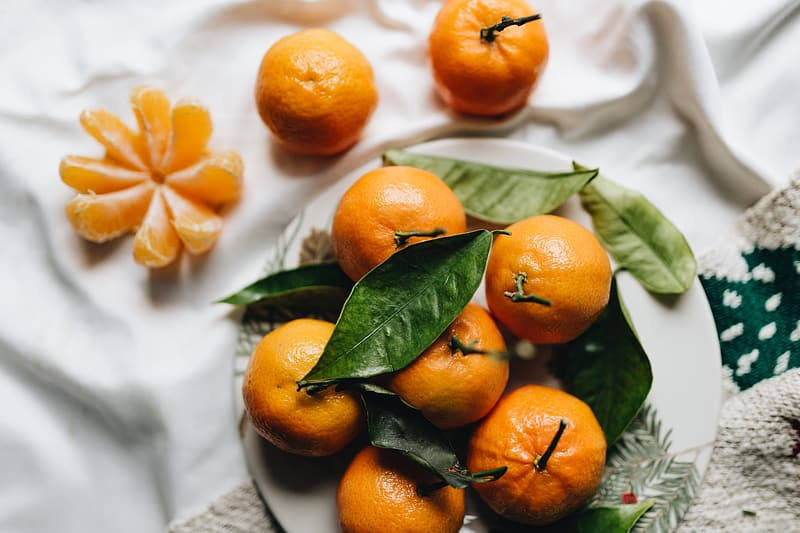 Oranges are a recommended source of Vitamin C and high carb food.