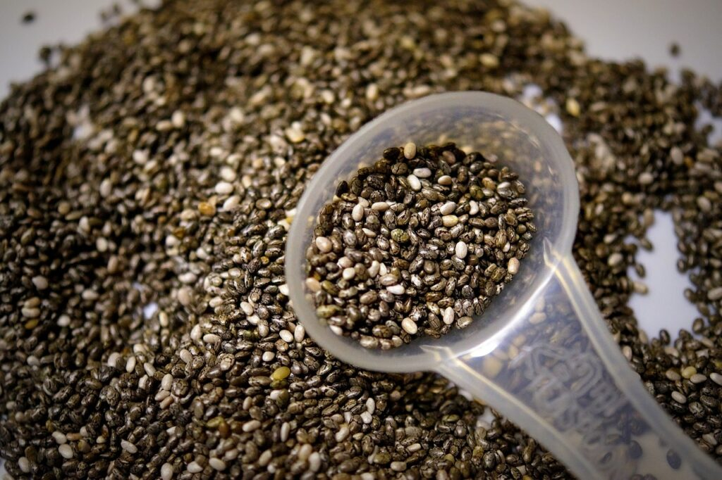 Chia seeds works effectively to grow out of your healthy hair. It among best foods to add thickness to hair