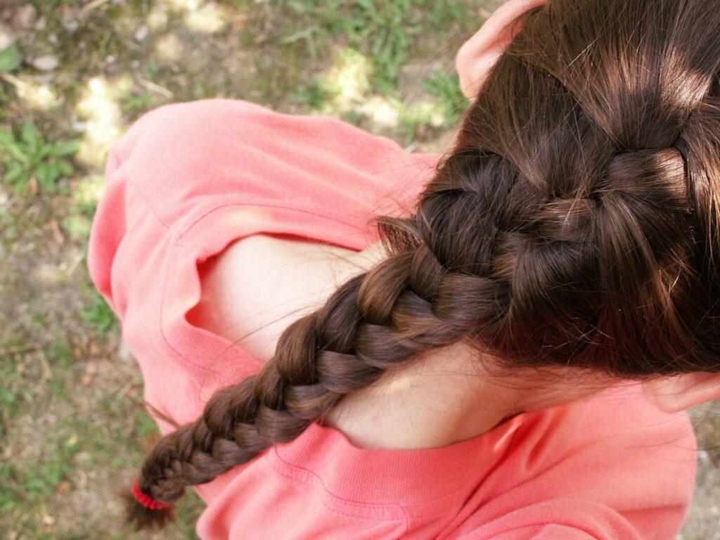 Oil for thicker hair growth like Morocco argan oil, tea oil, coconut oil, lemon mint oil and many more.