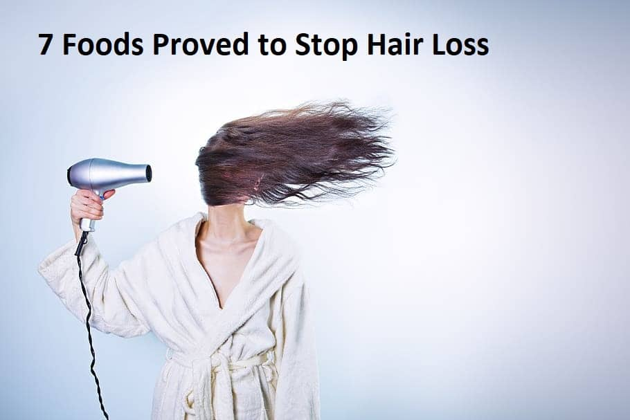 7 foods proved best to stop hair loss