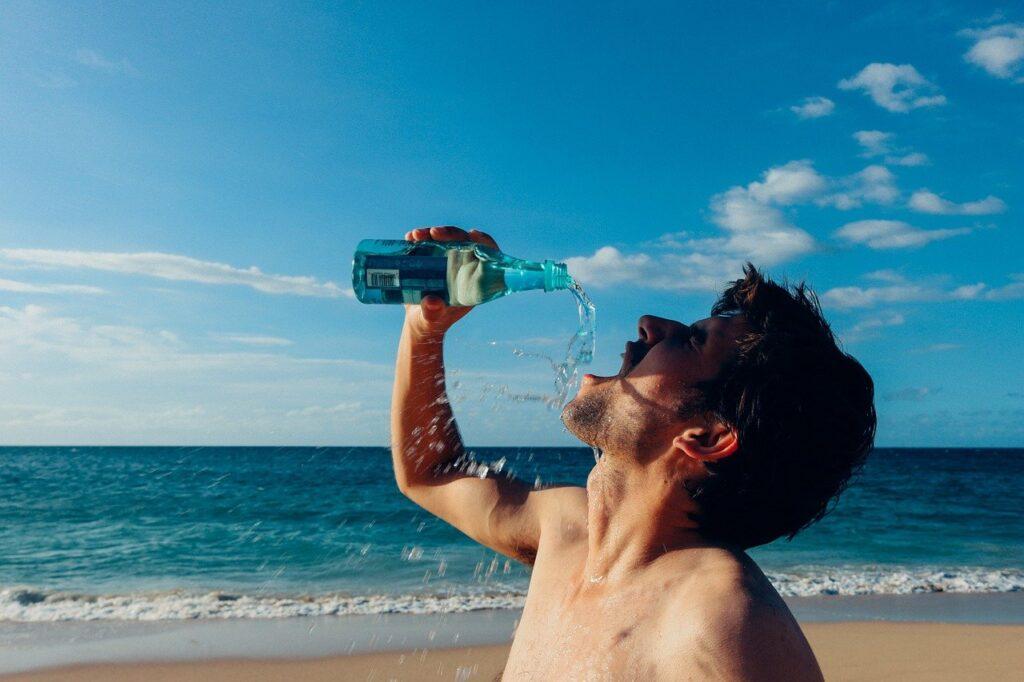 Drinking water can remove dark circles under eyes.